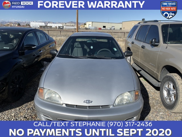 Pre-Owned 2001 Chevrolet Cavalier Base